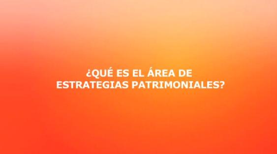 Video:  Que es el area de estrategias patrimoniales?