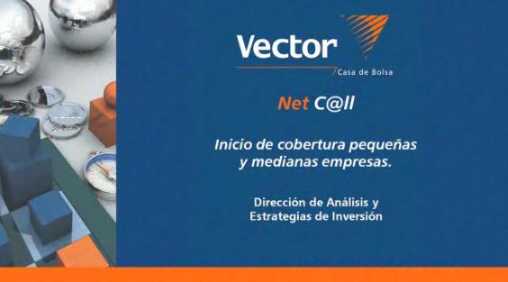 Video:  VectorNetC@ll. Inicio de cobertura de pequenas y medianas empresas